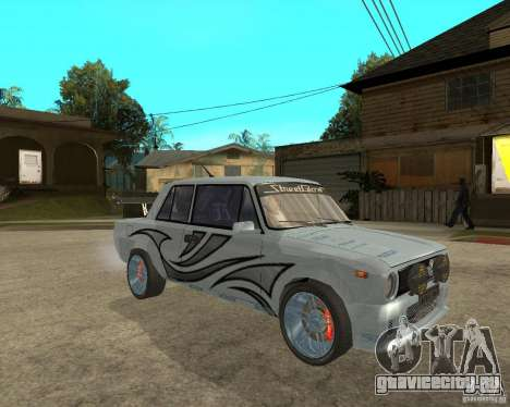 ВАЗ 2101 Тюнинг для GTA San Andreas вид справа