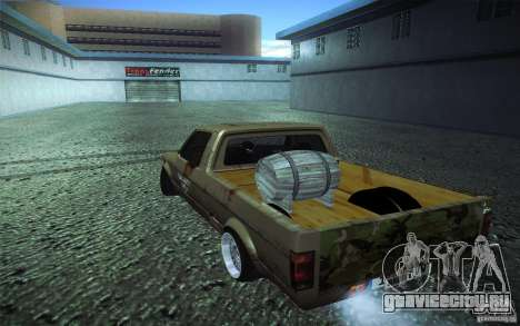 US Army Volkswagen Caddy для GTA San Andreas вид слева