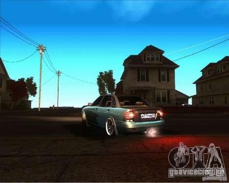ВАЗ 2170 Lambo для GTA San Andreas вид слева