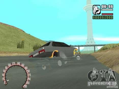 Ваз 21099 4х4 для GTA San Andreas вид сзади слева