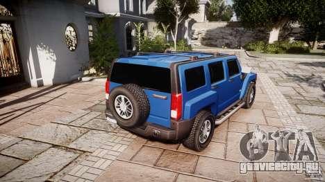 Hummer H3 для GTA 4 вид сбоку