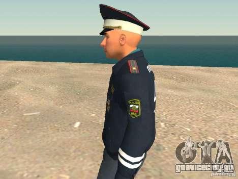 Майор ДПС для GTA San Andreas пятый скриншот