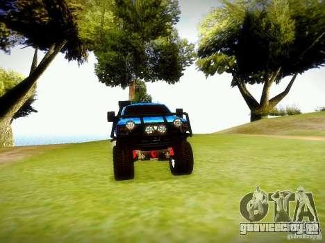 Chevrolet Silverado OFFRoad для GTA San Andreas вид справа