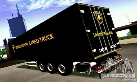 Lamborghini Cargo Truck для GTA San Andreas