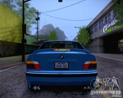 BMW M3 E36 1995 для GTA San Andreas салон