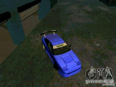 Nissan 240SX Drift Team для GTA San Andreas вид справа