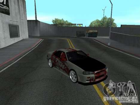 Nissan Skyline R 34 для GTA San Andreas