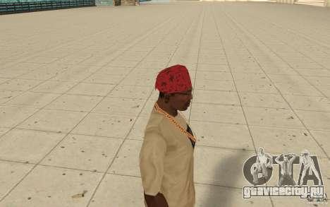Бандана maryshuana red для GTA San Andreas второй скриншот