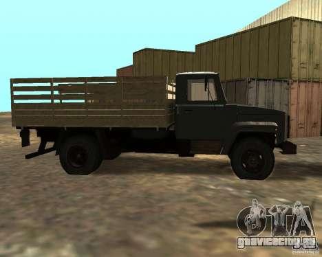 ГАЗ 3309 для GTA San Andreas вид слева