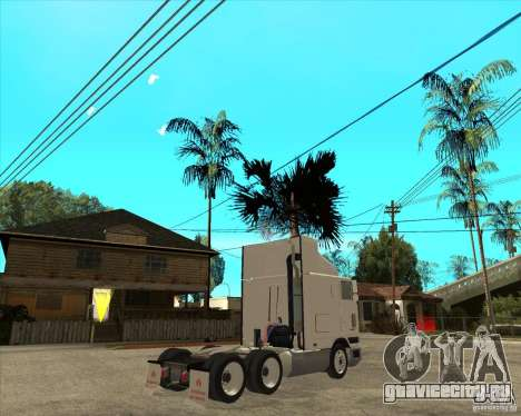 Navistar International 9800 для GTA San Andreas вид сзади слева