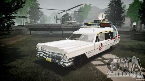 Cadillac Ghostbusters для GTA 4