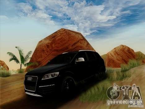 Audi Q7 2010 для GTA San Andreas вид слева