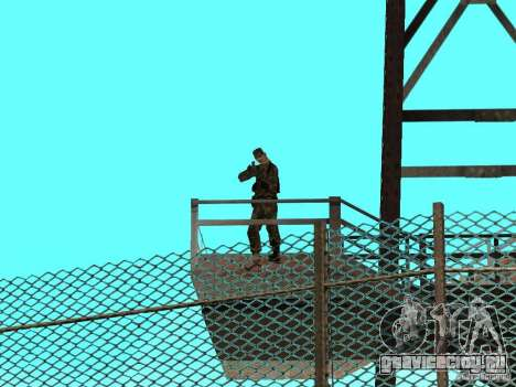 Оживлённая зона 69 для GTA San Andreas