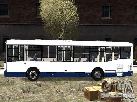 НефАЗ 5299-10-15 для GTA 4 вид слева