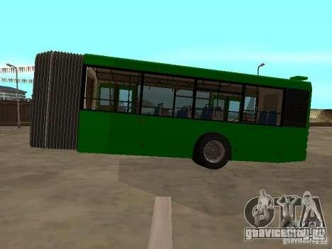 Прицеп для ЛиАЗ 6213.20 для GTA San Andreas вид слева