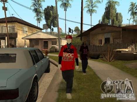 JabbaWockeeZ Skin для GTA San Andreas пятый скриншот