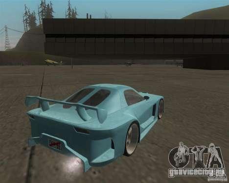 Mazda RX-7 Veilside Fortune для GTA San Andreas вид справа