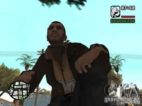 Niko Bellic для GTA San Andreas одинадцатый скриншот