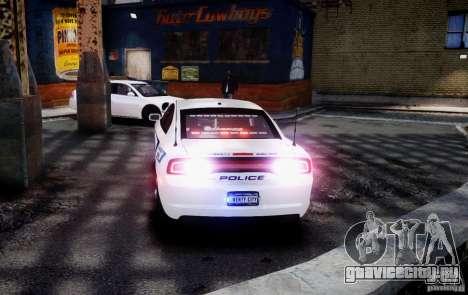Dodge Charger 2012 Slicktop ELS для GTA 4 вид слева