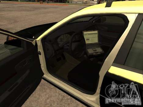 Chevrolet Impala Police 2003 для GTA San Andreas вид сзади