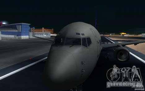 Sukhoi SuperJet-100 для GTA San Andreas вид сбоку