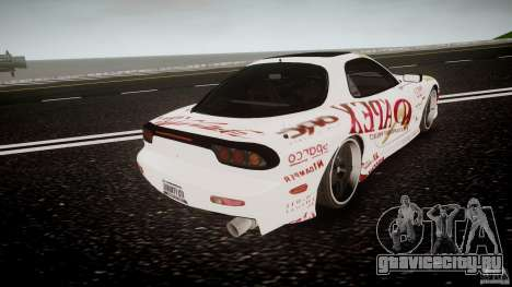 Mazda RX7 FD Apex Imamura для GTA 4 вид сбоку