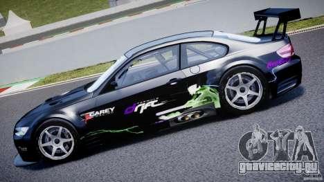 BMW M3 GT2 Drift Style для GTA 4 вид сбоку