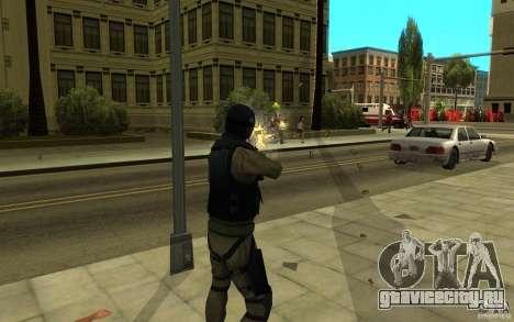 CJ-спецназ для GTA San Andreas шестой скриншот