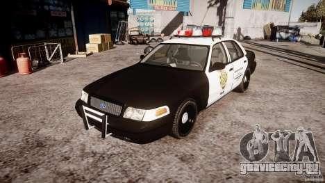 Ford Crown Victoria Raccoon City Police Car для GTA 4