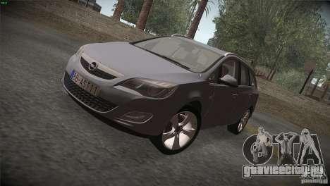 Opel Astra 2010 для GTA San Andreas