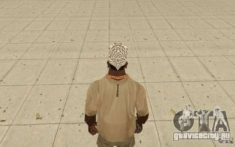 Бандана shamal для GTA San Andreas третий скриншот