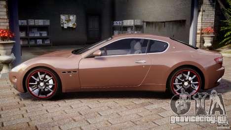 Maserati GranTurismo v1.0 для GTA 4 вид слева