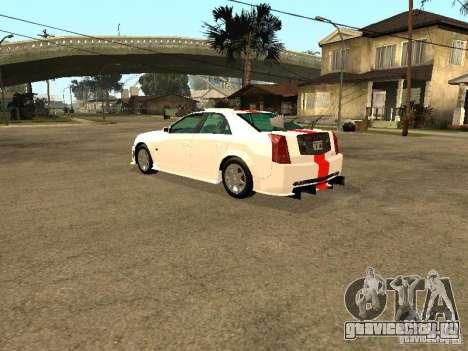 Cadillac CTS 2003 Tunable для GTA San Andreas вид снизу