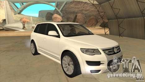 Volkswagen Touareg R50 для GTA San Andreas вид сзади