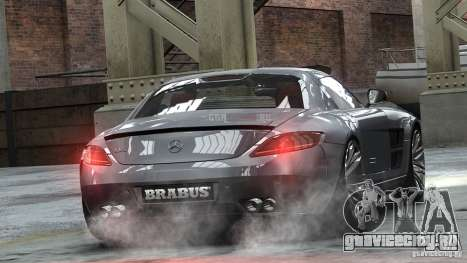 Mercedes-Benz SLS 2011 Brabus AMG Widestar для GTA 4 вид слева