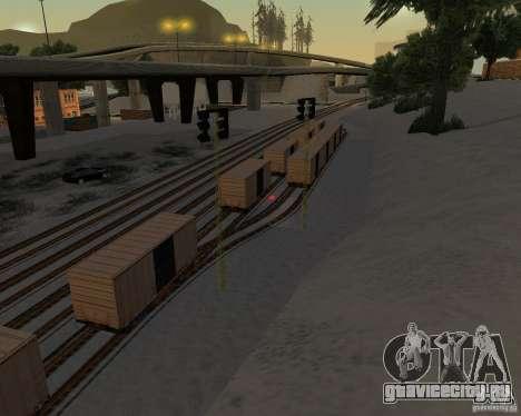 Новый вокзал для GTA San Andreas третий скриншот