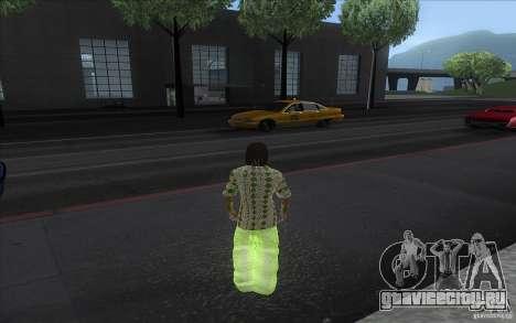 Rasta ped для GTA San Andreas второй скриншот