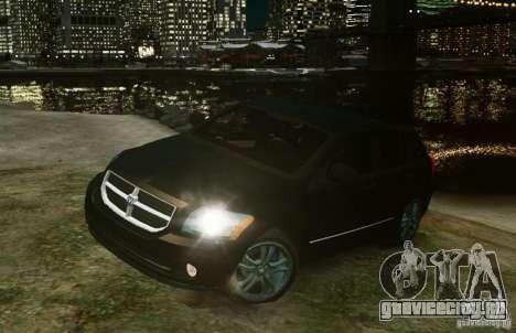 Dodge Caliber для GTA 4 вид слева