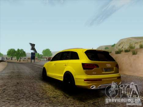 Audi Q7 2010 для GTA San Andreas вид справа