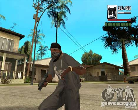 Glock new version для GTA San Andreas второй скриншот