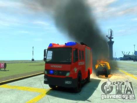 Mercedes-Benz Atego Fire Departament для GTA 4 вид сверху