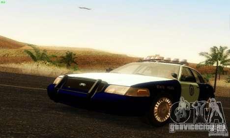 Ford Crown Victoria Masachussttss Police для GTA San Andreas