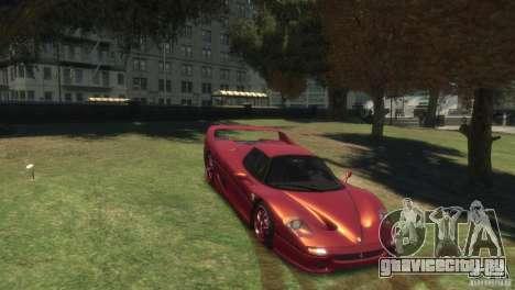 Ferrari F50 для GTA 4 вид справа