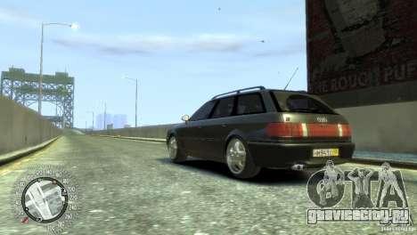 Audi RS2 Avant для GTA 4 вид слева