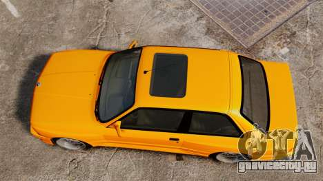 BMW M3 E30 v2.0 для GTA 4 вид справа