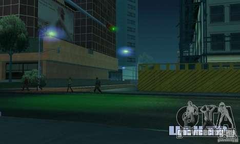 Синий цвет фар для GTA San Andreas четвёртый скриншот