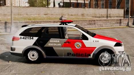 Fiat Palio Weekend Trekking 2013 PMESP ELS для GTA 4