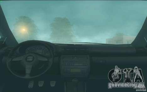 Seat Toledo 1.9 1999 для GTA San Andreas вид сбоку