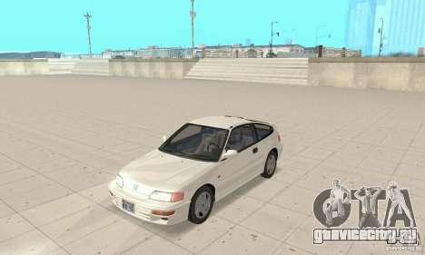HONDA CRX II 1989-92 для GTA San Andreas