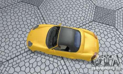 Porsche Boxster для GTA San Andreas вид сзади слева